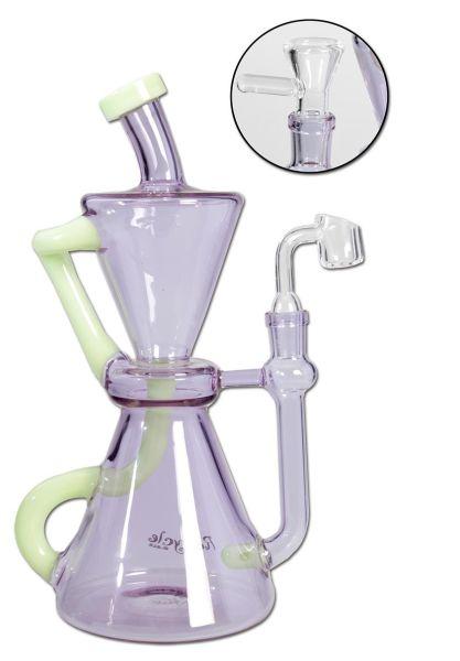 Recycle Glasbong Diffusor für Kräuter/Öl