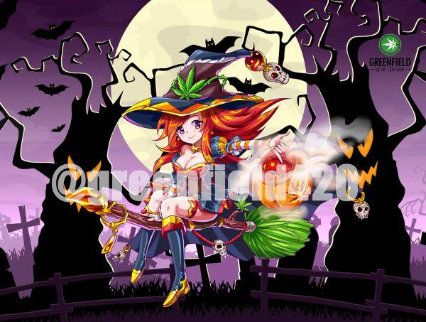 Manga Motiv Bild Hempy Witch