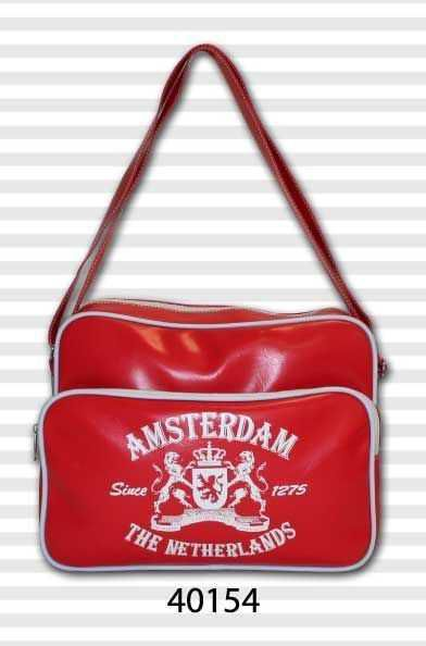 AMSTERDAM RETRO BAGS RED