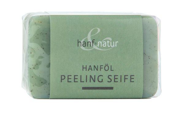 Hanföl Peeling Seife