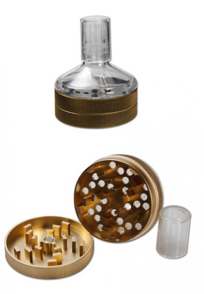 Anaxy Seed Grinder 2-tlg. Gold
