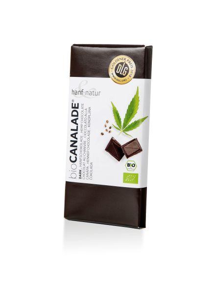 Hanf-Schokolade dark