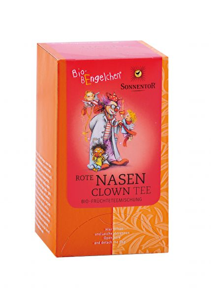 Rote Nasen Clown-Tee Bio