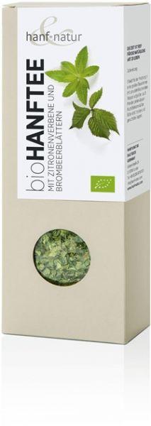 Hanf-Tee-Mischung mit Zitronenverbene