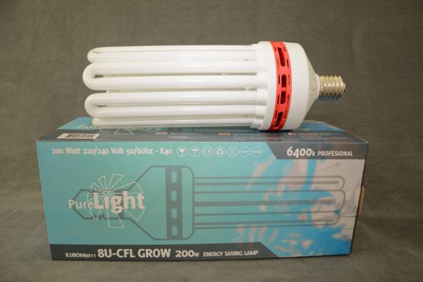 Pure Light CFL 200 Watt Grow (6400k)