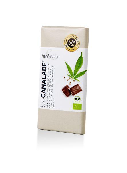 Hanf-Vollmilchschokolade