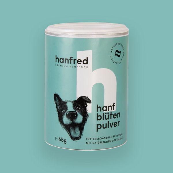 Hanfblütenpulver für Hunde