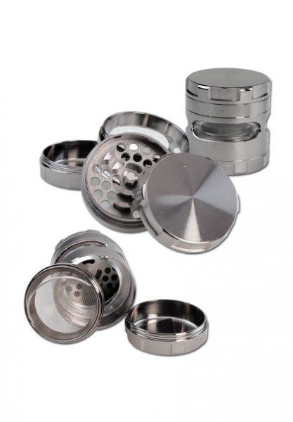 Metallgrinder 4tlg. 62mm Grau