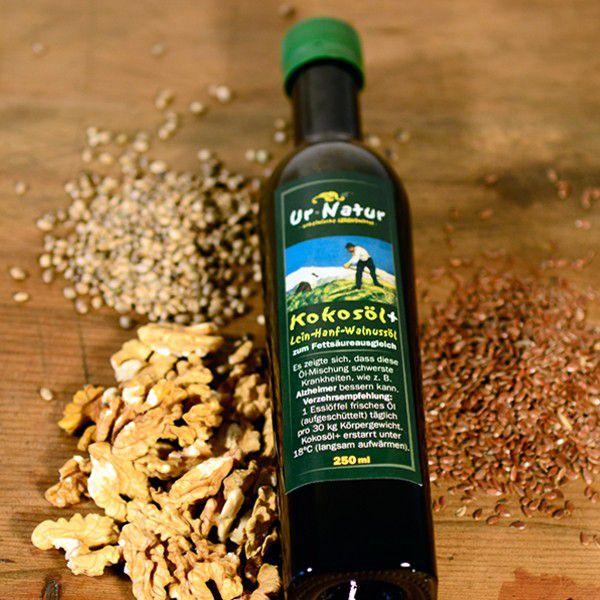 Kokos-Lein-Hanfmischöl 250ml