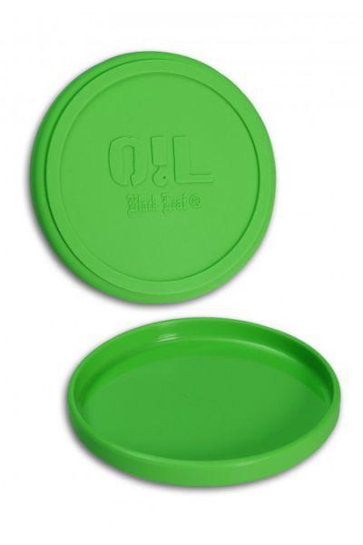 Black Leaf Oil Silikon Schale Grün