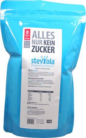 Steviola Streusüße 1000g