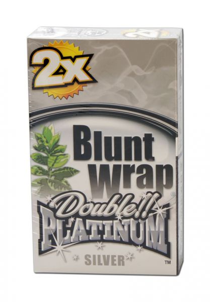 'Blunt Wrap' Platinum double 'SILVER'