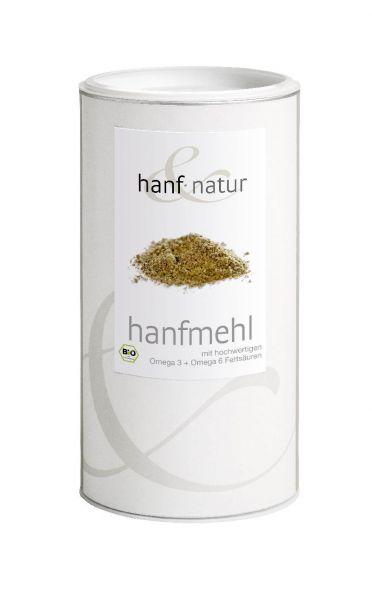Bio Hanfsamen Mehl in 1-kg-Dose