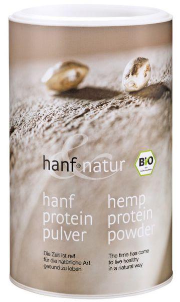 Hanf-Protein Pulver