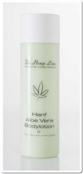 Hanf Aloe Vera Bodylotion 200 ml